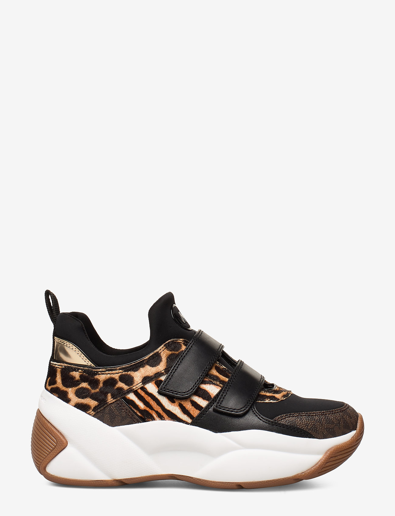 Michael Kors Shoes - KEELEY TRAINER - chunky sneakers - dk camel