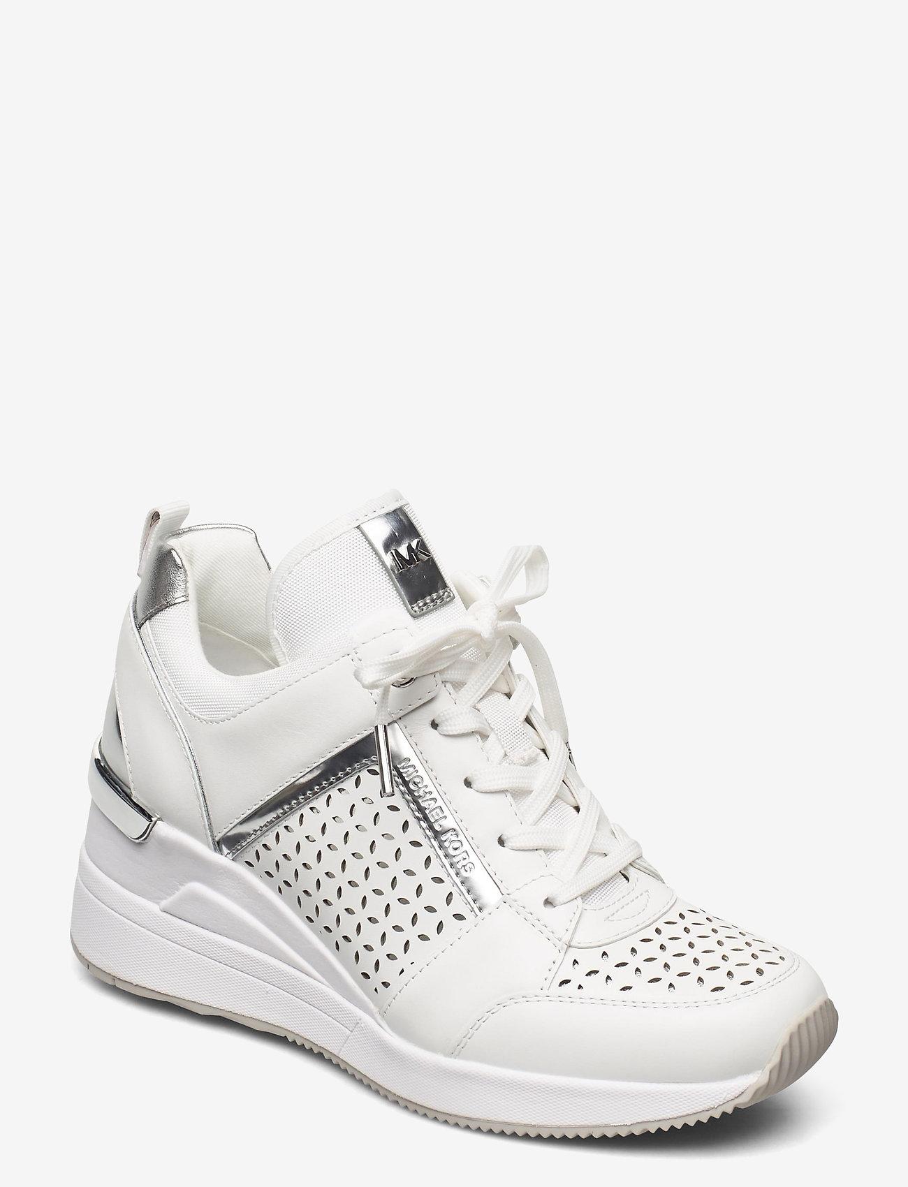 Michael Kors Shoes - GEORGIE TRAINER - hoge sneakers - optic white - 0