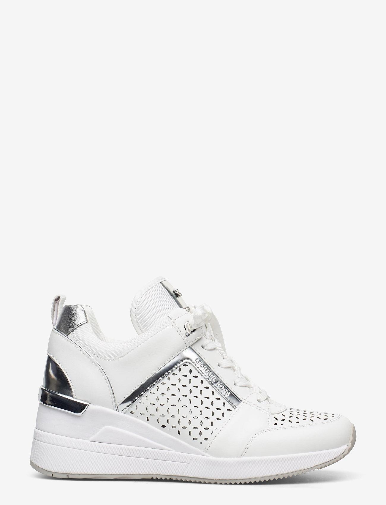Michael Kors Shoes - GEORGIE TRAINER - hoge sneakers - optic white - 1