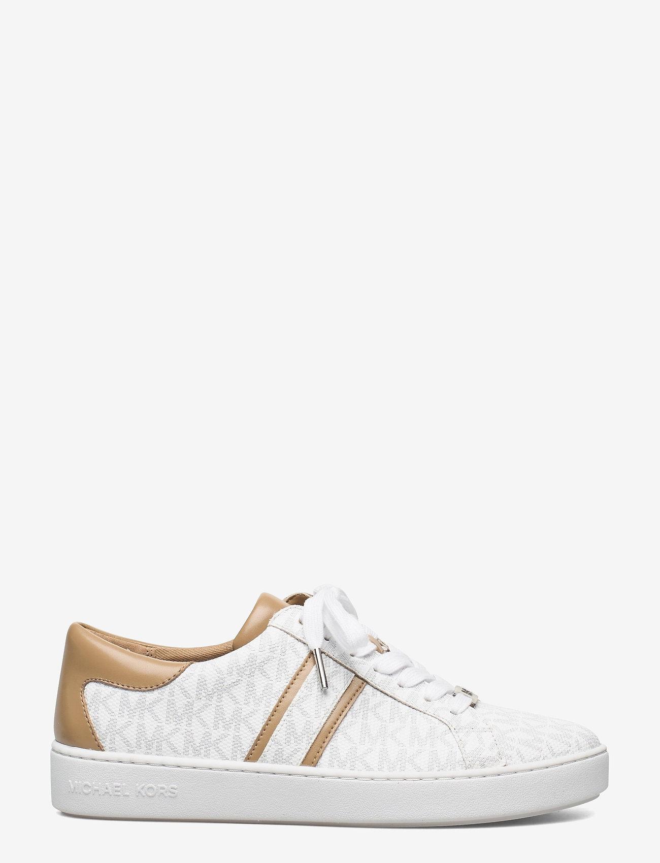 Michael Kors - KEATON STRIPE SNEAKER - lage sneakers - bright wht - 1