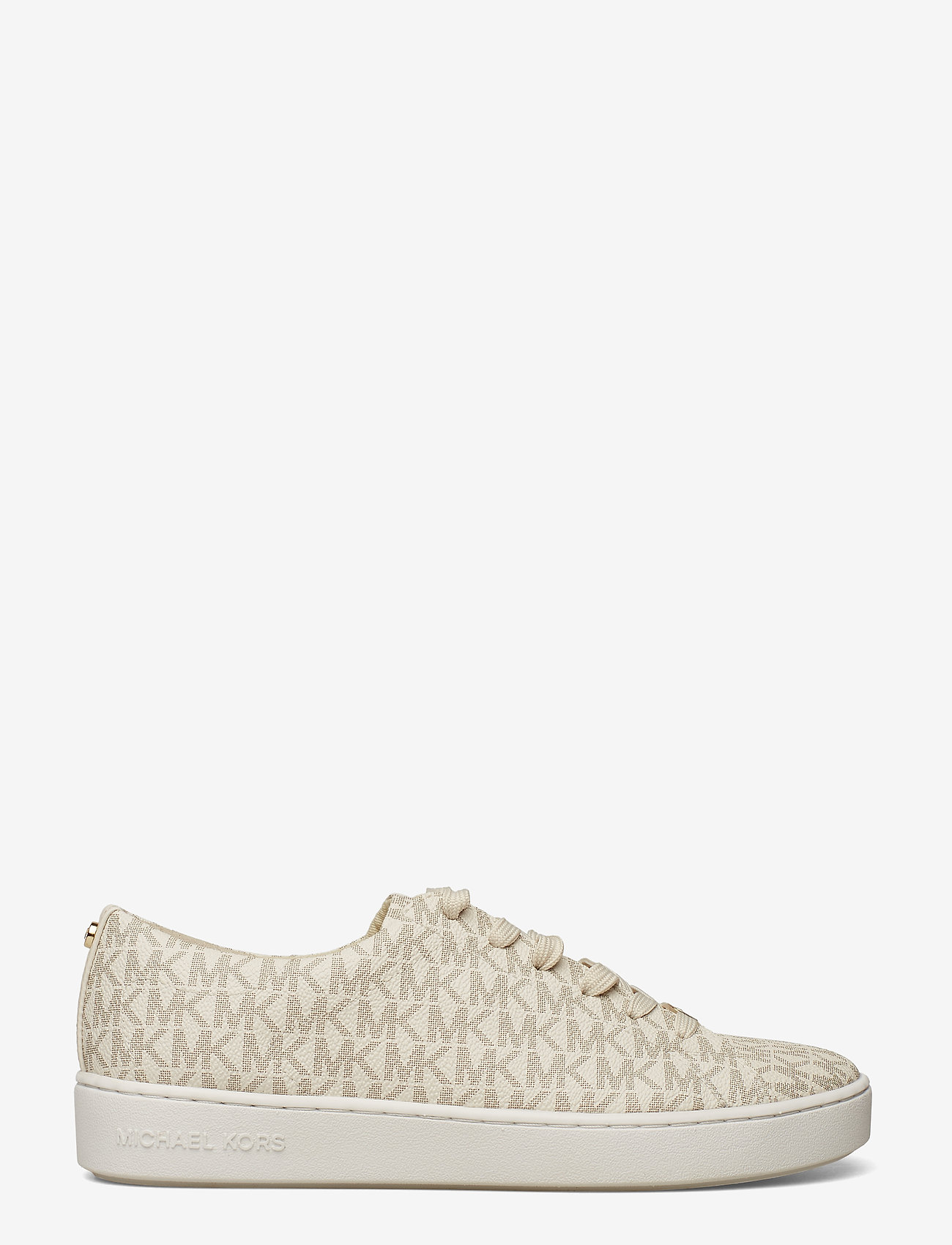Michael Kors - KEATON LACE UP - lage sneakers - vanilla - 1