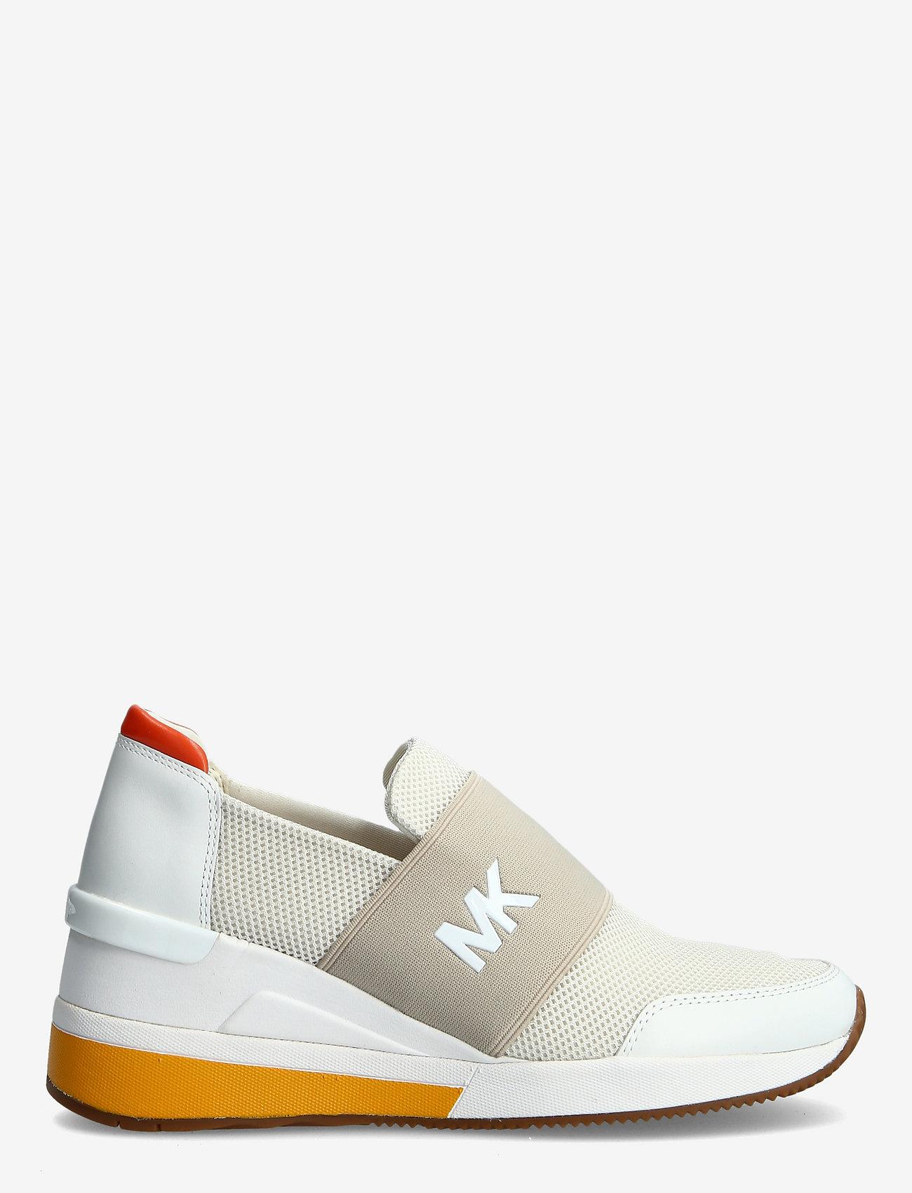Michael Kors - FELIX TRAINER - lage sneakers - cream multi - 1