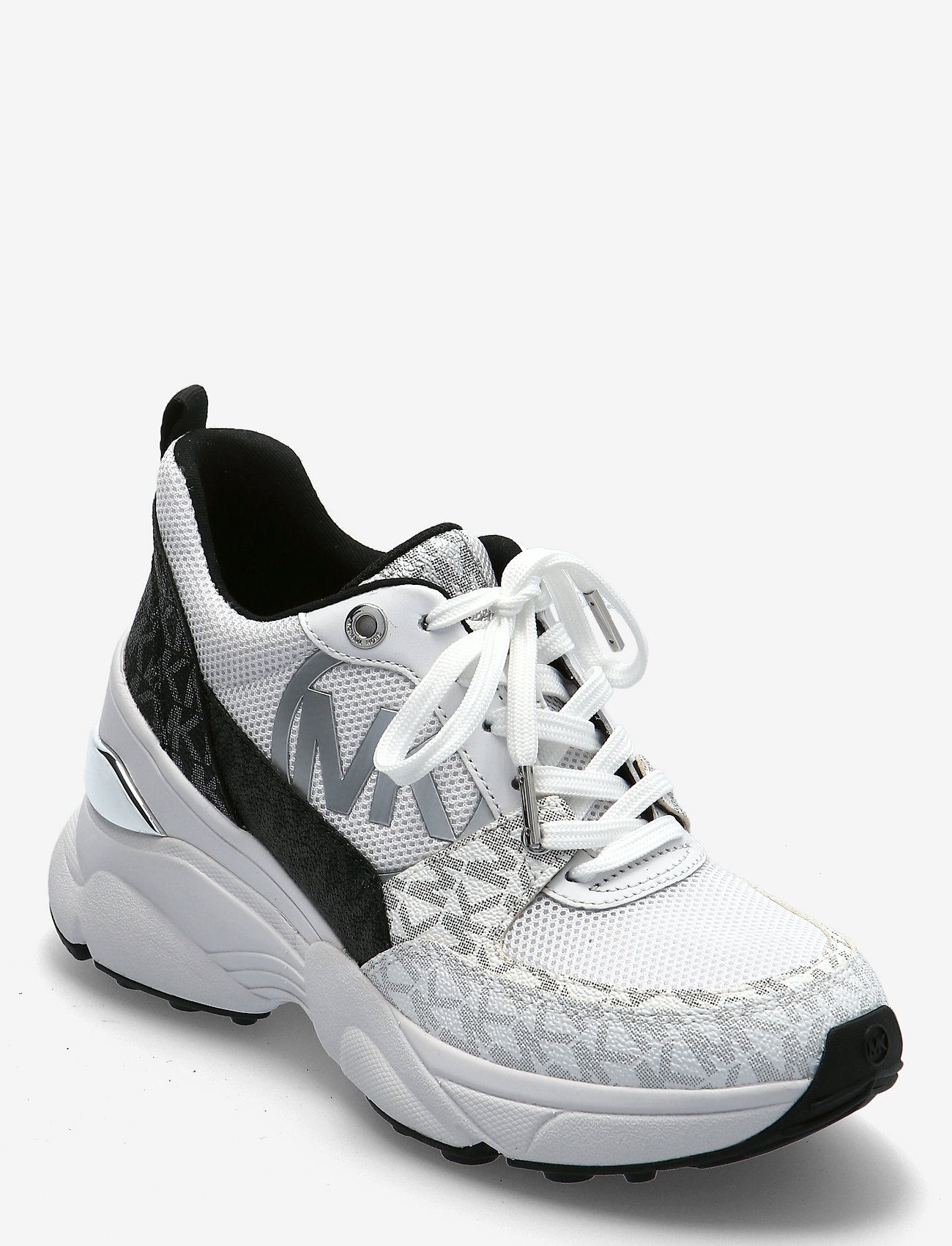 Michael Kors - MICKEY TRAINER - chunky sneakers - blk/wht - 0