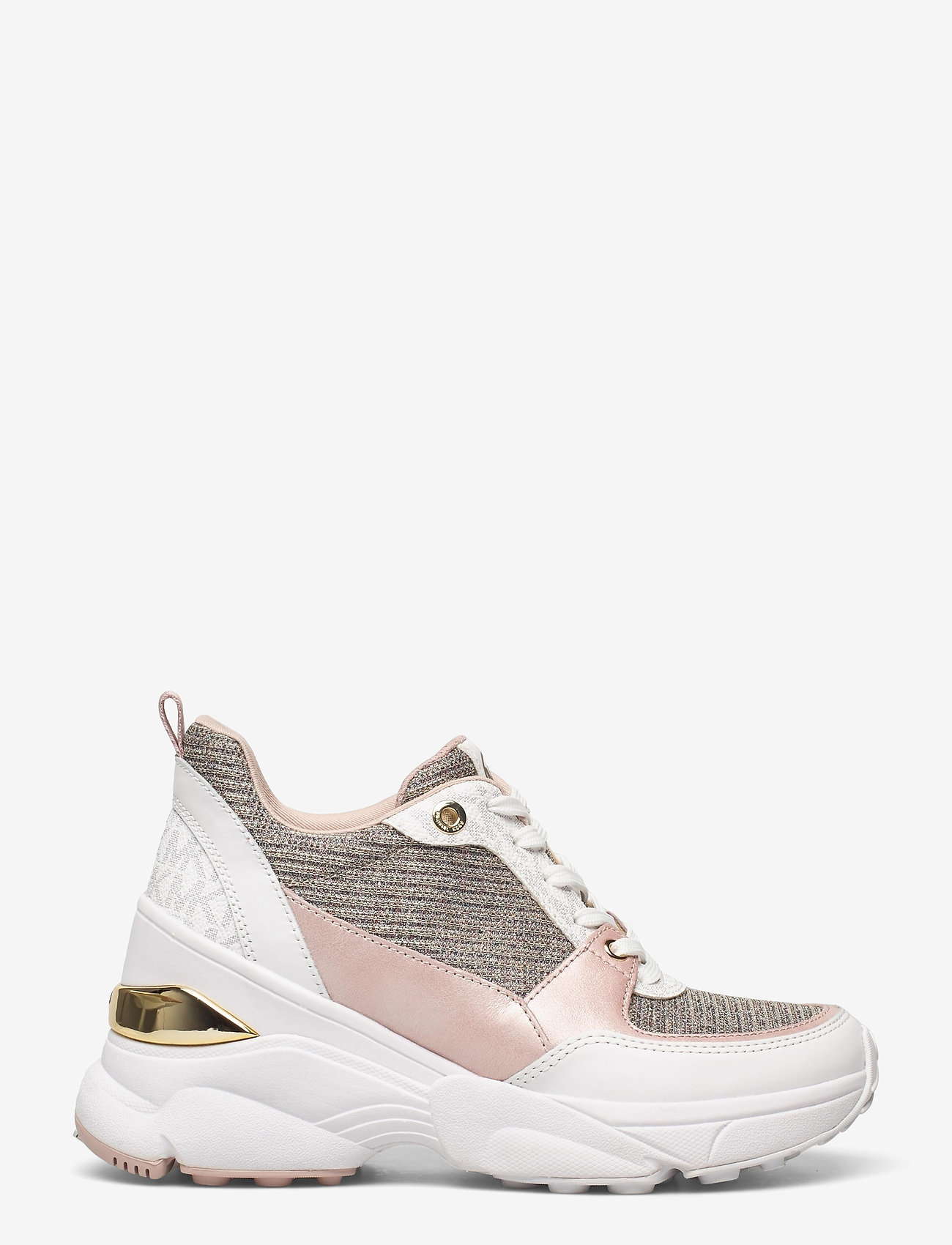 Michael Kors - MICKEY TRAINER - chunky sneakers - wht rainbow - 1