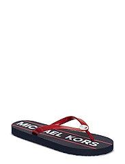 MK FLIP FLOP - BRIGHT RED
