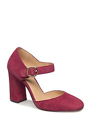 ALANA CLOSED TOE - MULBERRY