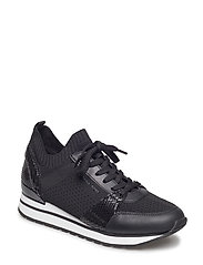 BILLIE KNIT trainers - BLACK