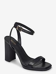 Michael Kors - ANGELA ANKLE STRAP - sandalen met hak - black - 0