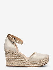 Michael Kors - KENDRICK WEDGE - espadrilles met sleehak - pale gold - 1