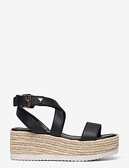 Michael Kors - LOWRY WEDGE - espadrilles met sleehak - black - 1