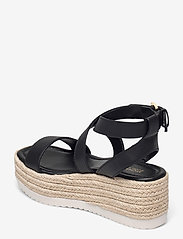 Michael Kors - LOWRY WEDGE - espadrilles met sleehak - black - 2