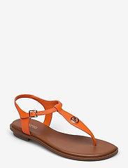 Michael Kors - MALLORY THONG - platte sandalen - clementine - 0
