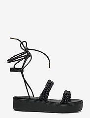 Michael Kors - MARINA SANDAL - platte sandalen - black - 1