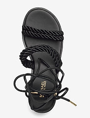 Michael Kors - MARINA SANDAL - platte sandalen - black - 3