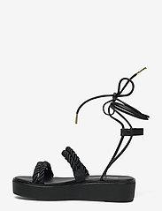 Michael Kors - MARINA SANDAL - platte sandalen - black - 4