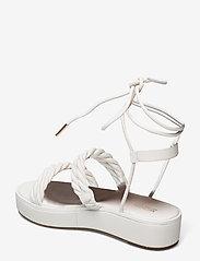 Michael Kors - MARINA SANDAL - platte sandalen - optic white - 2