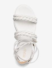Michael Kors - MARINA SANDAL - platte sandalen - optic white - 3