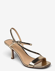 Michael Kors - TASHA SANDAL - sandalen met hak - pale gold - 0