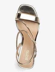Michael Kors - TASHA SANDAL - sandalen met hak - pale gold - 3