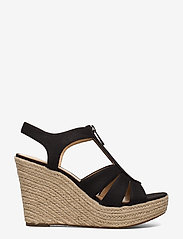 Michael Kors - BERKLEY WEDGE - espadrilles met sleehak - black - 1