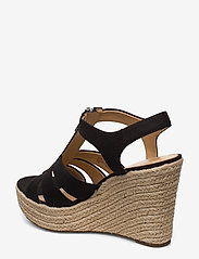 Michael Kors - BERKLEY WEDGE - espadrilles met sleehak - black - 2