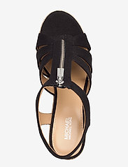 Michael Kors - BERKLEY WEDGE - espadrilles met sleehak - black - 3
