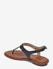 Michael Kors - MK PLATE THONG - platte sandalen - black - 2