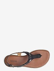 Michael Kors - MK PLATE THONG - platte sandalen - black - 3