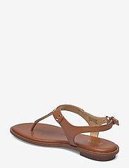 Michael Kors - MK PLATE THONG - platte sandalen - luggage - 2