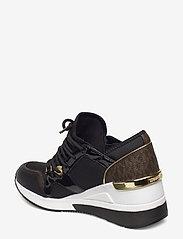 Michael Kors - LIV TRAINER - lage sneakers - black - 1