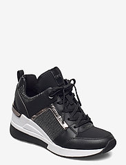 Michael Kors - GEORGIE TRAINER - hoge sneakers - black - 0