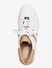 Michael Kors - KEATON STRIPE SNEAKER - lage sneakers - bright wht - 3