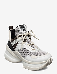 Michael Kors Shoes - OLYMPIA TRAINER - chunky sneakers - blk/opticwht - 0