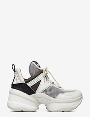 Michael Kors Shoes - OLYMPIA TRAINER - chunky sneakers - blk/opticwht - 1