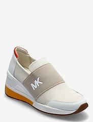 Michael Kors - FELIX TRAINER - lage sneakers - cream multi - 0