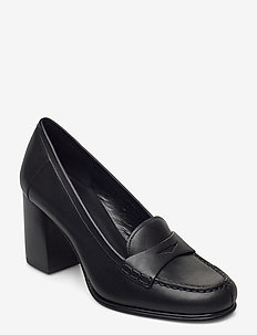 BUCHANAN MID LOAFER - classic pumps - black