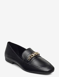 DOLORES LOAFER - loafers - black