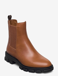 RIDLEY BOOTIE - chelsea boots - luggage