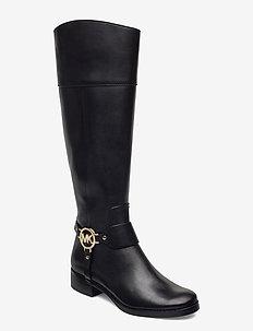 FULTON HARNESS BOOT - lange laarzen - black