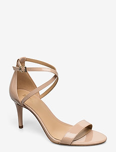 AVA MID SANDAL - heeled sandals - lt blush