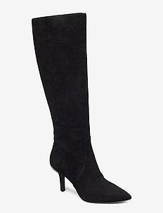 KATERINA BOOT - lange stiefel - black