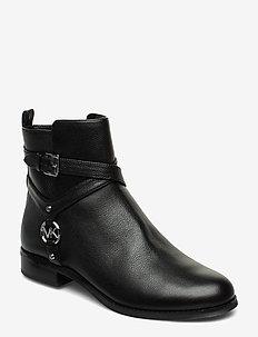 PRESTON FLAT BOOTIE - platta ankelboots - black