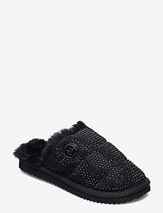 JANIS SLIPPER - pantoffels - black