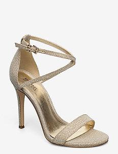 ANTONIA SANDAL - heeled sandals - pale gold
