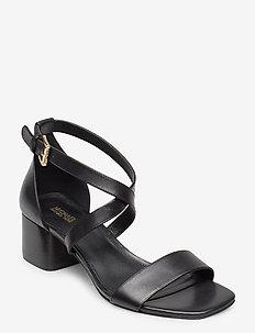 DIANE MID - heeled sandals - black