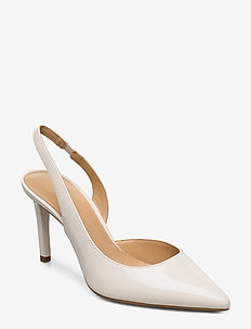 LUCILLE FLEX SLING - sling backs - lt cream