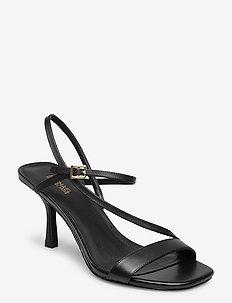 TASHA SANDAL - heeled sandals - black