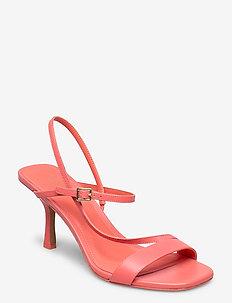 TASHA SANDAL - heeled sandals - pnkgrapfruit