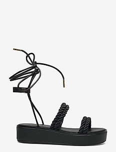 MARINA SANDAL - platte sandalen - black