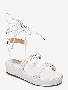 MARINA SANDAL - platte sandalen - optic white